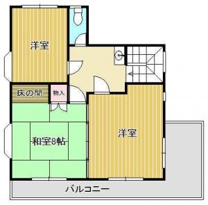『土浦住宅2F』の画像