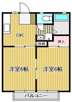 『15番館 間取り図』の画像