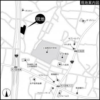 『中高津№5案内図』の画像