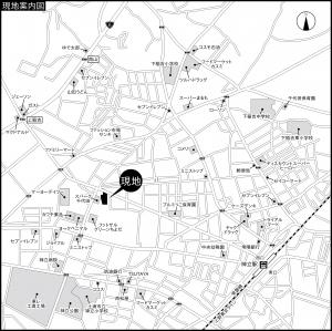 『下稲吉地図』の画像